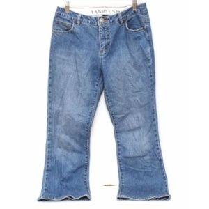Lands End Jeans Womens 4 Medium Wash Boot Leg